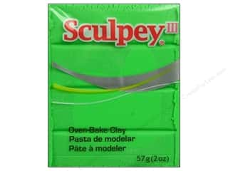 Sculpey III Clay 2oz Lime