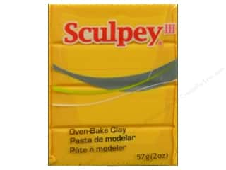 Clay Art Accessories: Sculpey III Clay 2 oz. Yellow