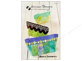 Atkinson Design Purses, Totes & Organizers Patterns: Atkinson Designs Zippy Strippy Pattern