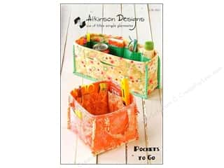 Atkinson Design Purses, Totes & Organizers Patterns: Atkinson Designs Pockets To Go Pattern