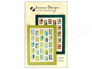 Log Cabin Quilts Quilting: Atkinson Designs Urban Cabin Pattern