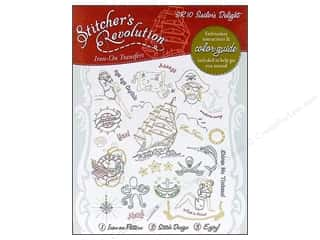 "Embroidery 10"": Stitcher's Revolution Iron On Transfer Sailor's Delight"
