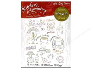 Stitcher's Revolution Iron On Transfer Lucky Charm
