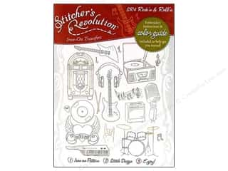 Books Music & Instruments: Stitcher's Revolution Iron On Transfer Rock'n & Roll'n