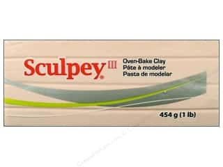 Clay Cream/Natural: Sculpey III Clay 1 lb. Beige