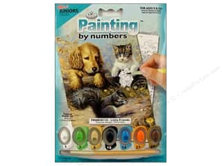 Royal Rub Ons Projects & Kits: Royal Paint By Number Mini Juniors Little Friends