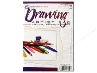 Royal Rub Ons: Royal Artist Pad Drawing 40pg