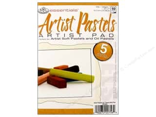 Clearance Blue: Royal Artist Pad Pastels Assorted Tones 10pg