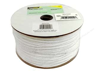 Home Decor inches: Cable Cord by Dritz Home White 5/32 in. x 144 yd. (144 yards)