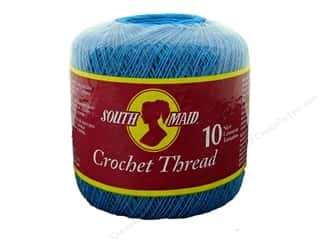 South Maid Crochet Cotton Thread Size 10 Blue Hawaii