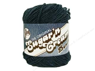 Plastics Blue: Lily Sugar 'n Cream Yarn  2.5 oz. #1114 Indigo