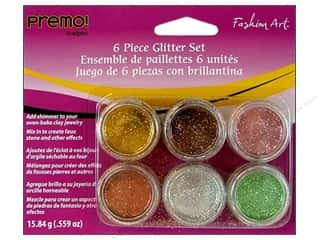 Premo Glitter Fashion Art Set Metallic 6pc