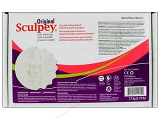 fall sale sculpey: Sculpey Original Clay 3.75lb White