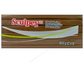 Sculpey III Clay 8 oz. Hazelnut