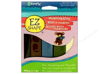 Clay & Modeling Animals: Polyform EZ Shape Non Dry Modeling Clay Set Natural