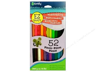 Clay & Modeling $3 - $4: Polyform EZ Shape Non Dry Modeling Clay Set 52pc