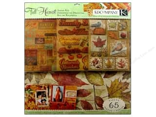 K&amp;Co Scrap Kit 12x12 Tim Coffey Fall