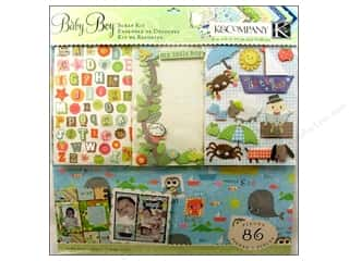 K&amp;Co Scrap Kit 12x12 Nursery Rhymes Boy