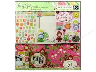 K&amp;Co Scrap Kit 12x12 Nursery Rhymes Girl