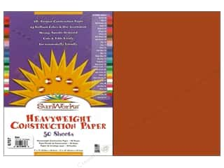 "Sunworks Construction Paper 12x18"" Brown 50pc"