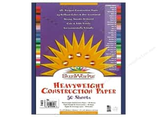 "construction paper: Sunworks Construction Paper 9x12"" Blue 50pc"