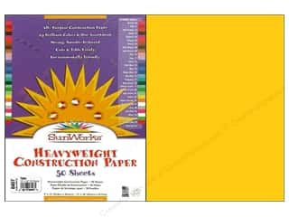 "Sunworks Construction Paper 12x18"" Yellow 50pc"
