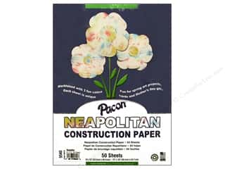 "Pacon Construction Paper 9""x 12"" Neapolitan 50pc"