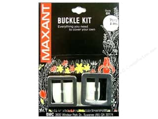 "Maxant Button & Supply Buckles: Maxant Cover Buckle Kit 1"" Square"