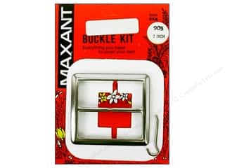 "Buckles Bulk & Cover Buttons: Maxant Cover Buckle Kit 2"" Square"