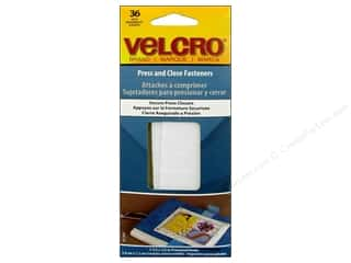 Velcro Adhesive Fasteners Press & Close 1 1/2  x 1/2 in