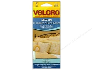 "VELCRO brand Sew On Tape 2""x 36"" White"