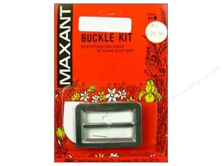 "Maxant Button & Supply Buckles: Maxant Cover Buckle Kit 1.5"" Rectangle"