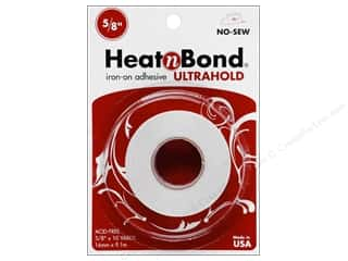"Heat n Bond Ultra Hold Iron-on Adhesive 5/8""x10yd"