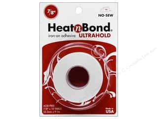"heat n bond iron-on adhesive: Heat n Bond Ultra Hold Iron-on Adhesive 7/8""x10yd"