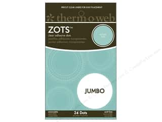Therm O Web Zots Memory Jumbo Rmvbl 1&quot;x1/32&quot; 24pc