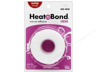 "heat n bond iron-on adhesive: Heat n Bond Iron-on Hem Adh Super Wt 3/4""x8yd"