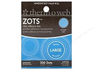 "Therm O Web Zots Memory 1/2""dia 300 pc"