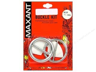 "Maxant Button & Supply Buckles: Maxant Cover Buckle Kit 1.5"" Round"