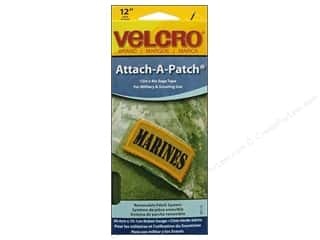 Outdoors Velcro / Hook & Loop Tape: Velcro Sew On Attach A Patch 4 x 12 in. Sage
