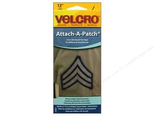 Velcro / Hook & Loop Tape: Velcro Sew On Attach A Patch 4 x 12 in. Desert Tan