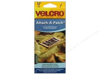 Velcro Sew On Attach A Patch 4 x 12 in. Foliage Green