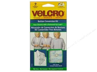 "VELCRO brand Button Conversion Kit 3/8"" Pearl"