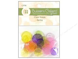 Buttons Galore Button Clear Rounds Spring