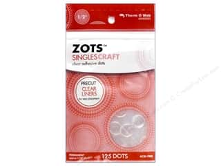 Therm O Web Zots Singles Craft 125pc