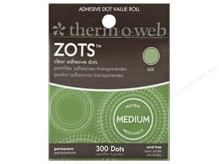 "Therm O Web Zots Memory 3/8""dia 300 pc"