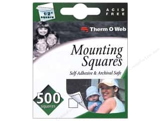 Therm O Web Therm O Web iCraft: Therm O Web Mounting Squares 500 pc
