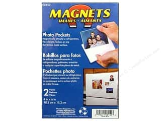 "Art, School & Office Basic Components: The Magnet Source Magnet Photo Pocket 4""x 6"" 2pc"