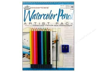 Royal Rub Ons Home Decor: Royal Artist Pack Watercolor Pencil