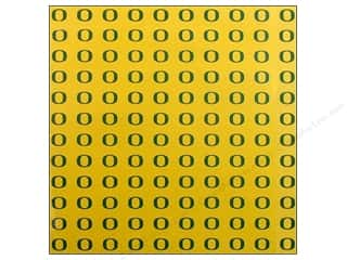 Scrapbooking: Sports Solution Paper 12x12 Oregon Yellow (25 sheets)