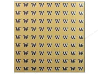 Scrapbooking: Sports Solution Paper 12x12 Washington Gold (25 sheets)